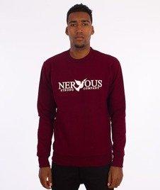 Nervous-Classic Fa16 Bluza Bordowa