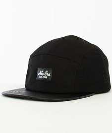 New Era-Mesh Patch 5-Panel Czarny