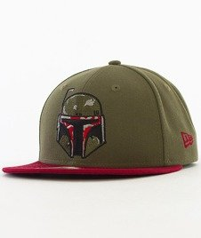 New Era-Star Wars Boba Fett Snapback Khaki/Bordowy