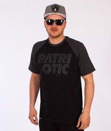Patriotic-CLS Fonts T-Shirt Czarny/Grafitowy