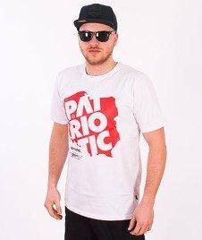 Patriotic-Map T-shirt Biały