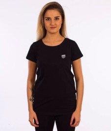 Prosto-Dive T-shirt Damski Czarny