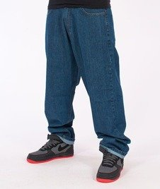 SmokeStory-Smoke Baggy Jeans Medium Blue