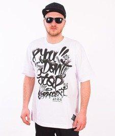 Stoprocent-Claim T-Shirt Biały