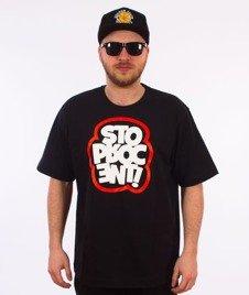 Stoprocent-Cloud T-shirt Czarny