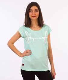 Stoprocent-Tagirl T-Shirt Damski Miętowy