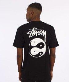 Stussy-Ying Yangz T-Shirt Czarny