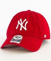 47 Brand-Clean Up New York Yankees Czapka z Daszkiem Czerwona