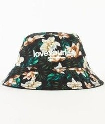 Alkopoligamia-Loveyourlife Bucket Hat Multikolor/Czarny