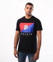 Biuro Ochrony Rapu-Flaga T-shirt Czarny
