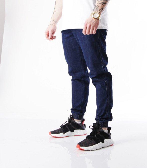Biuro Ochrony Rapu-Jogger Fit Guma Strecz Spodnie BOR New Outline Medium