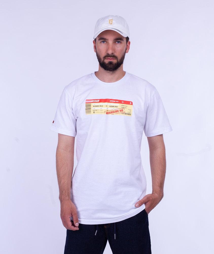 Biuro Ochrony Rapu NORMALNIE T-Shirt Biały