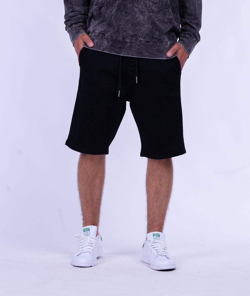 Biuro Ochrony Rapu SKIN Krótkie Spodnie Jeans Czarny