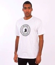 Black Scale-Circular Logic T-Shirt White
