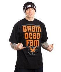 Brain Dead Familia BRAINDEADFAM T-Shirt Czarny