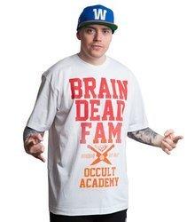 Brain Dead Familia OCCULT ACADEMY T-Shirt Biały