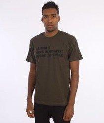 Carhartt-Bold Type T-Shirt Cypress/Black