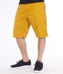 Carhartt-Lincoln Simple Krótkie Spodnie Saffron Rigid