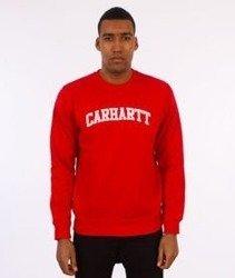 Carhartt-Yale Sweatshirt Bluza Chili/White