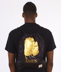 Cayler & Sons-Amen Gym Bag Black/Gold