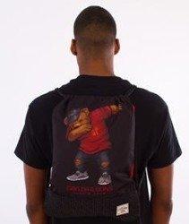 Cayler & Sons-Dabbin Crew Gym Bag Black/Red