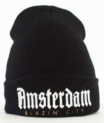Cayler & Sons-WL Amsterdam Old School Beanie Black