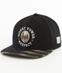 Cayler & Sons-WL Money Power Respect Snapback Black/Gold/White
