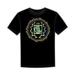 DIIL CAMO LAUR T-Shirt Czarny