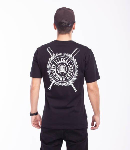 DIIL SHIELD T-Shirt Czarny