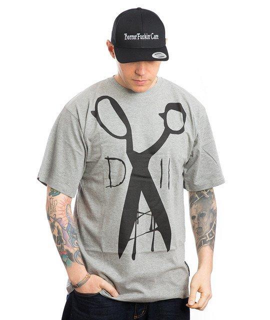 Demonologia NOŻYCZKI T-Shirt Szary