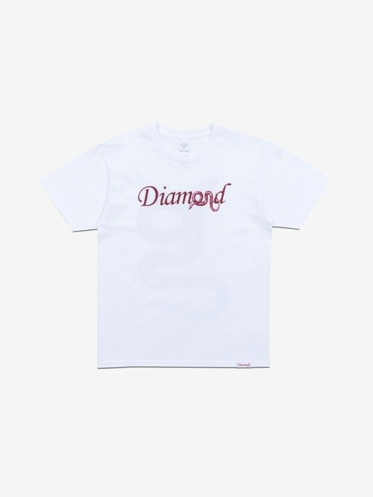 Diamond COLD BLOODED T-Shirt Biały