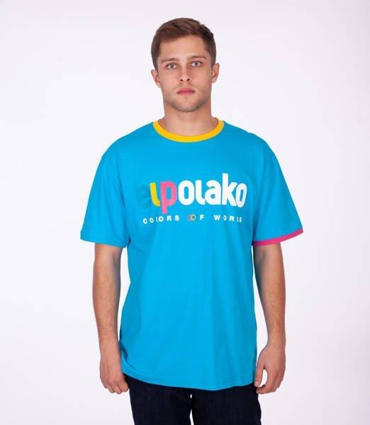 El Polako COW T-Shirt Błękitny