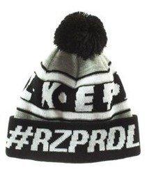 El Polako-#RZPRDL Czapka Zimowa Pompon Czarna
