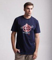 Elade Icon Happy T-Shirt Granatowy