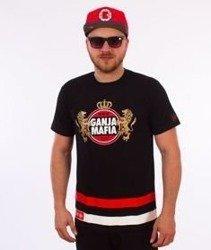 Ganja Mafia-I Amsterdam T-Shirt Czarny