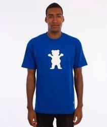 Grizzly-OG Bear Logo Basic T-Shirt Royal