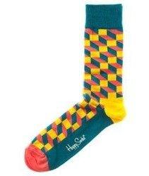 Happy Socks-Filled Optic Skarpety [FO01-2000]