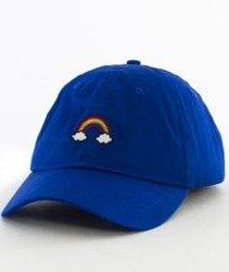 Hype-Rainbow Dad Hat Czapka Z Daszkiem Royal