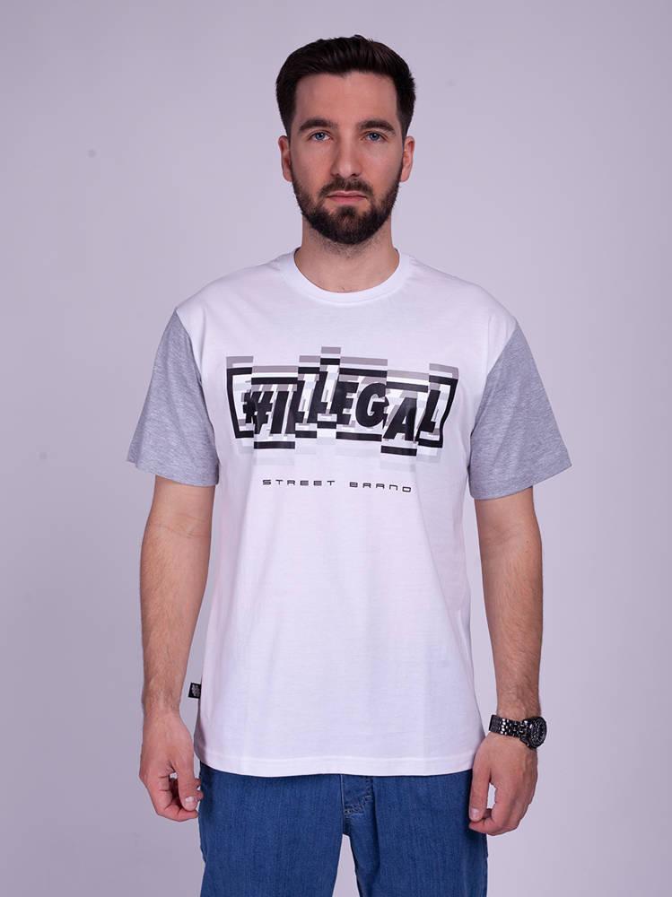 Illegal HOLO T-Shirt Biały