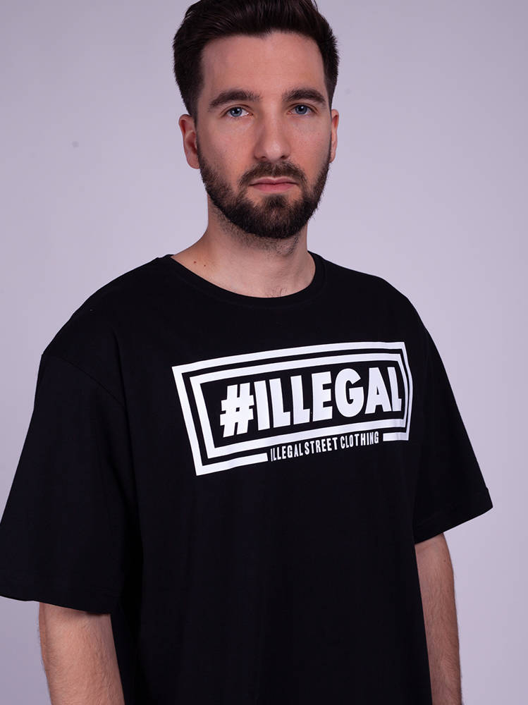 Illegal KLASYK V2 T-Shirt Czarny