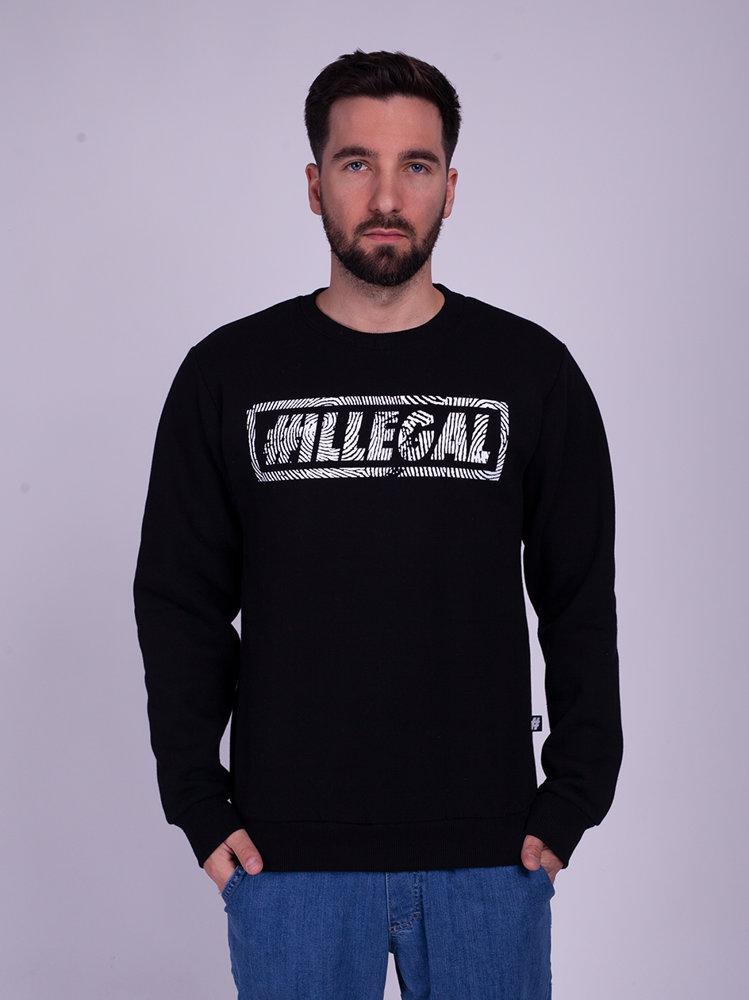 Illegal ODCISK Bluza Czarny