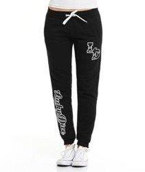 Lucky Dice-SP College Sweatpants Spodnie Dresowe Damskie Czarne