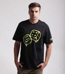 Lucky Dice TBWTLD T-Shirt Czarny/ Neonowy