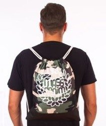 MASS-Base Gym Bag Worek Camo