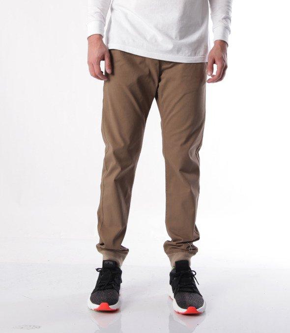 Mass-Classic Jogger Sneaker Fit Spodnie Beige