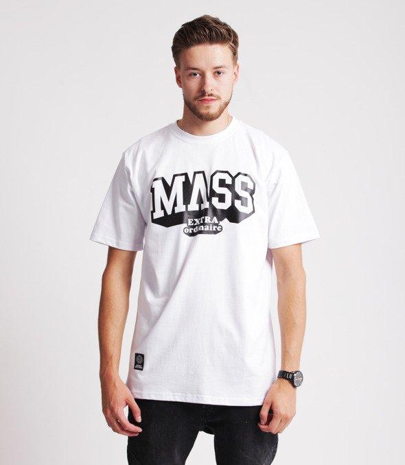 Mass HASSLE T-Shirt Biały