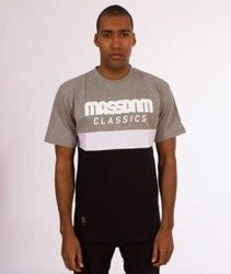 Mass-Respect T-Shirt Grey/Black