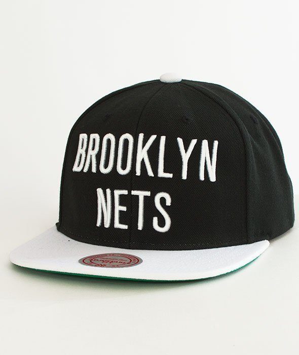 Mitchell & Ness-Brooklyn Nets XL Logo Two Tone NM04Z