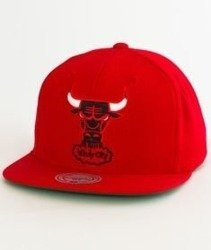 Mitchell & Ness-Chicago Bulls Solid Team Snapback NZ979 Red