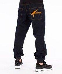 Moro Sport-Big Paris Jogger Jeans Spodnie Ciemny Jeans